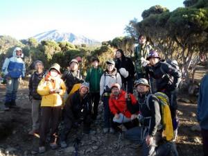 キリマンジャロ登山最終日