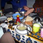 キリマンジャロ登山の食事